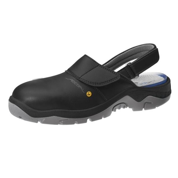 Abeba® ESD Sicherheits-Clog 32125 SB schwarz
