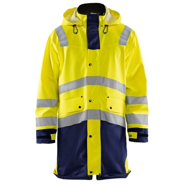 4306 Blakläder® Regenmantel Level 2 Warnschutz