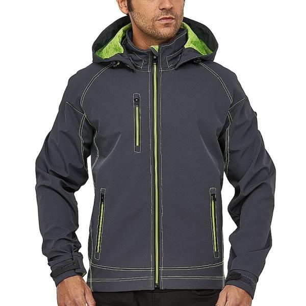MS300006 Macseis® Twotone Softshell Jacke grau