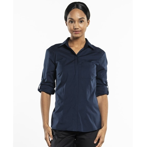 610 Chaud Devant® Service Bluse UFX Navy